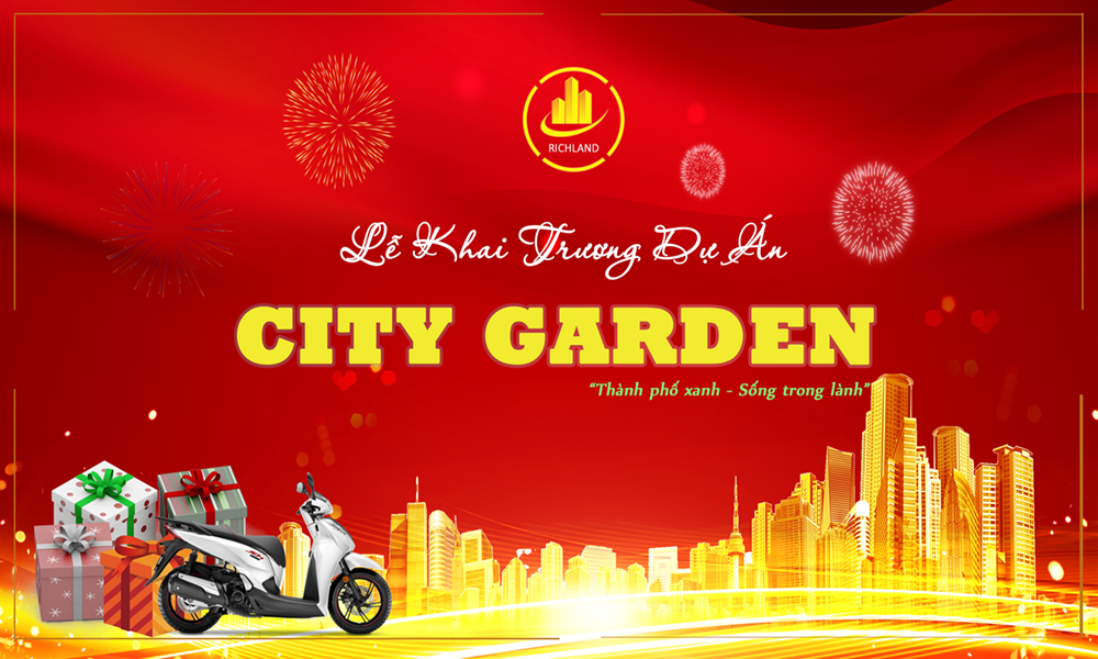 "DỰ ÁN ""CITY GARDEN"" LONG AN"