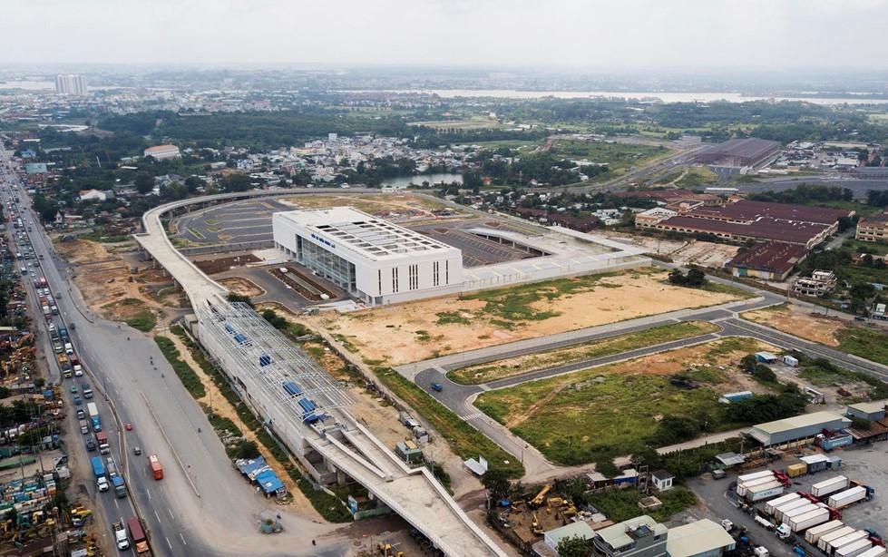 Bến xe Miền Đông mới chuẩn bị khai trương trước ngày 15/8