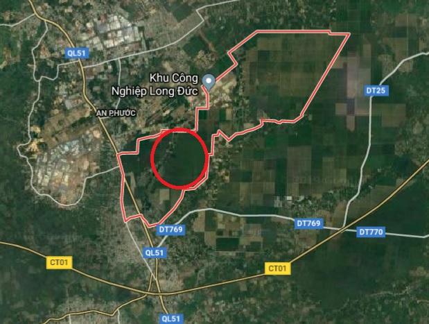 Đồng Nai đấu giá khu đất 92ha giá 16.45 tỷ tại Long Thành