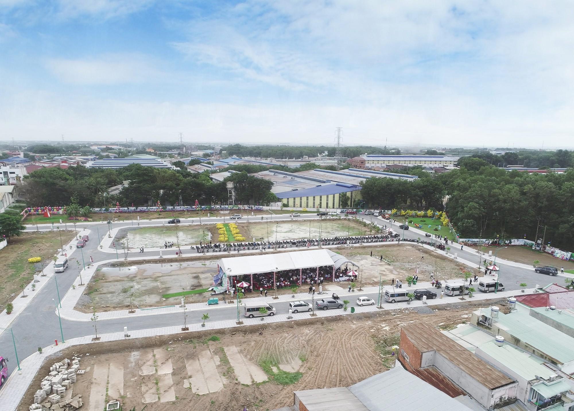 THỐNG KÊ từ hiệp hội bất động sản, giá đất nền tại Dĩ An, Thuận An đã tăng gấp ba giai đoạn 2017 – 2019.